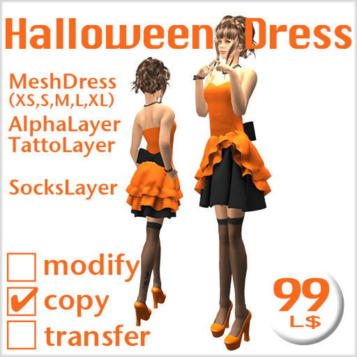 Lucky Borad Halloween Dress