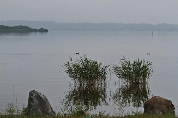 凪の網走湖
