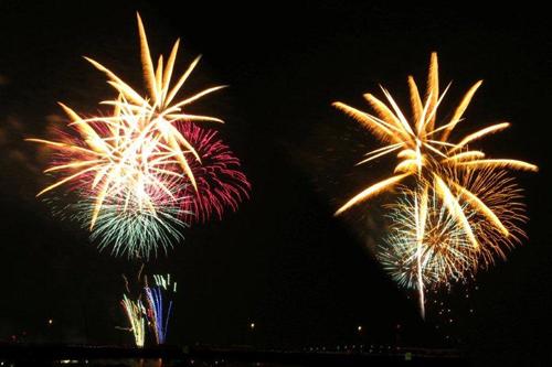 足立の花火2012