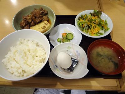 牛すじ豆腐定食