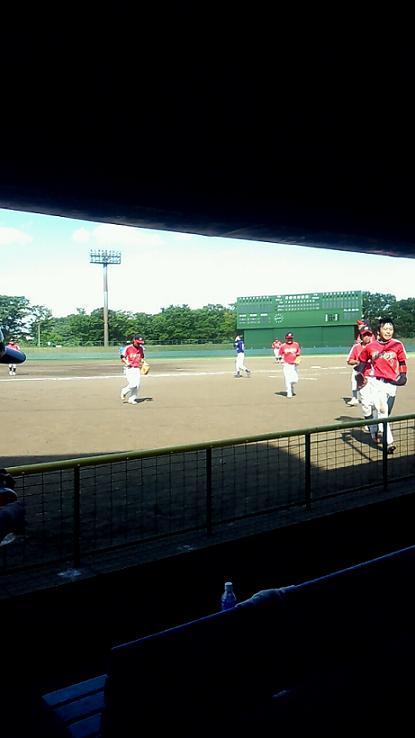 野球 守備交代2