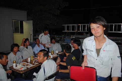 各テーブル(一斗)