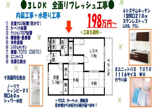 fukusho広告チラシ