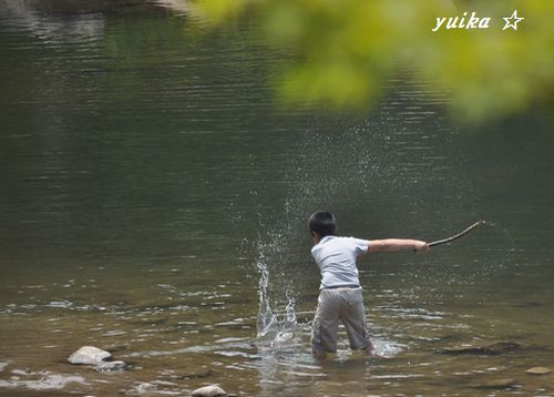 川遊び519