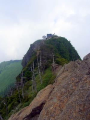 120726天狗岳山頂から