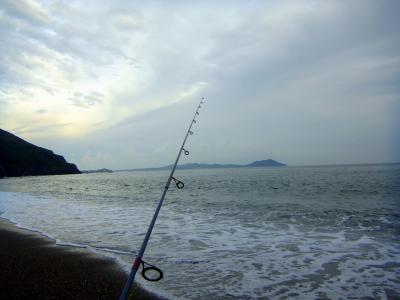 120814サーフで釣り