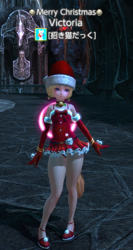 サンタ服(サラ)帽子あり