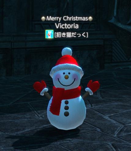 雪だるま(赤)
