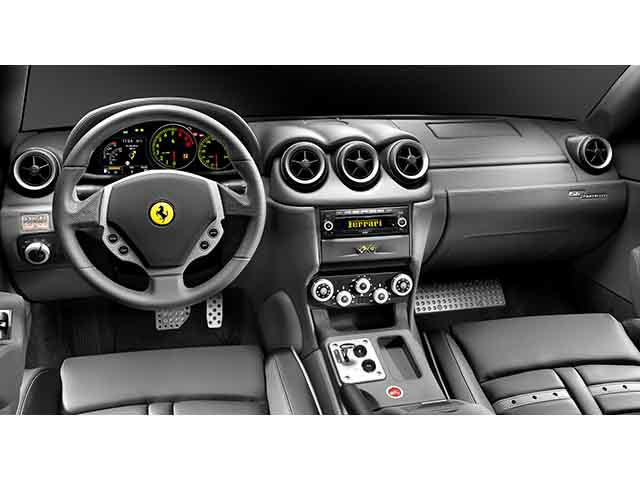 フェラーリ612内装