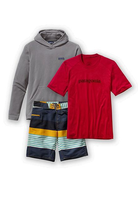 Men's Micro D™ Hoody, Polarized Tee & Wavefarers