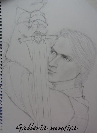 色鉛筆画1