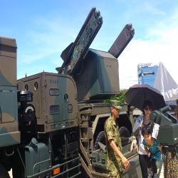 陸自のミサイル