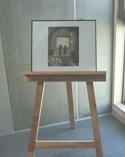 階段室の絵