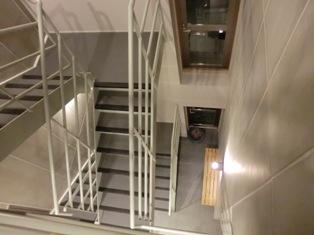 階段室の上から