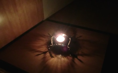 茶室の灯り1