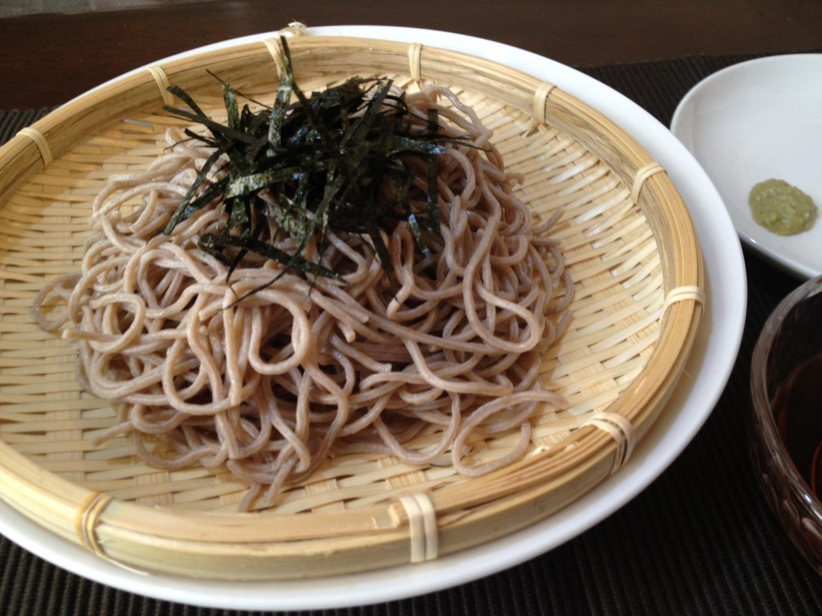 蕎麦粉入り大豆麺