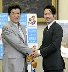 大ちゃん松井知事訪問