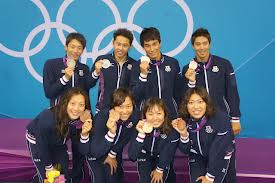 日本競泳陣