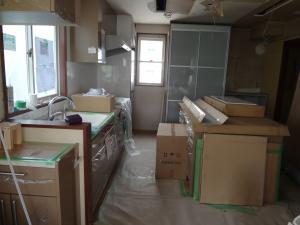 キッチン搬入(縮小)