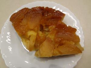タルトタタン風アップルケーキ(縮小)