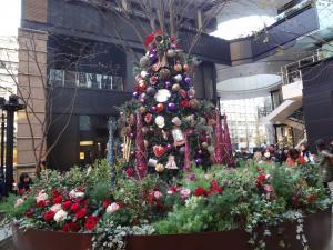 東京のカフェんのクリスマスツリー(縮小)