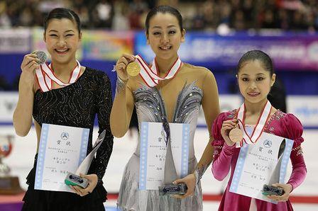 2012全日本女子表彰式