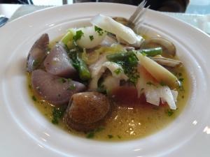 セラフィーノすずきのスープ仕立て(縮小)