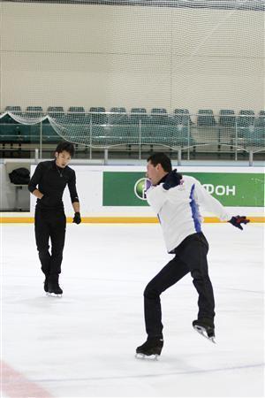 大ちゃん&モロゾフ練習