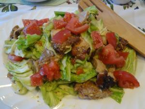 チキンとキャベツのサラダ(縮小)