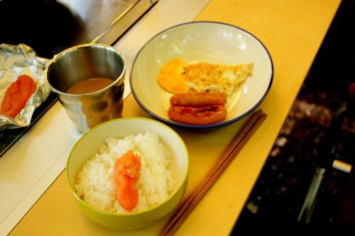 森きち 2日目朝食