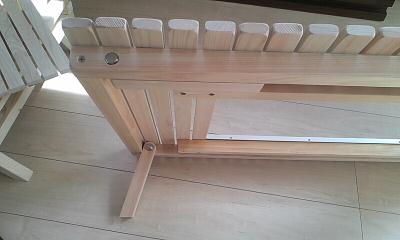 新テーブル 折りたたみ脚