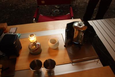 森きち2 3日目朝コーヒー