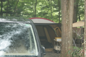 森きち2 3日目朝 雨