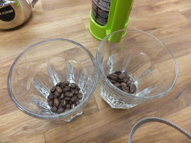 二種類の豆
