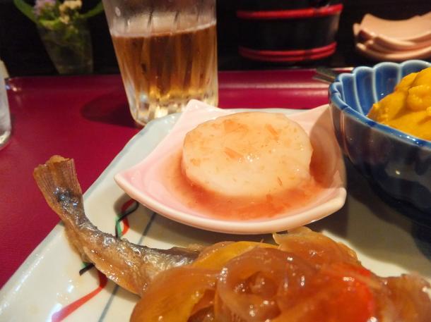 山芋と梅肉