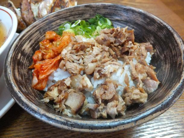 叉焼丼(小)