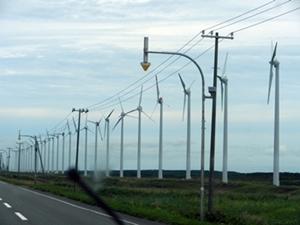 北海道は風力発電のメッカみたい