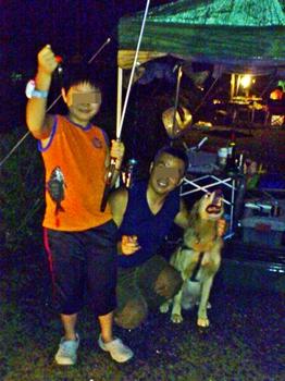 夜釣りwithジャック