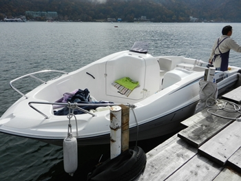 レンタルボートです
