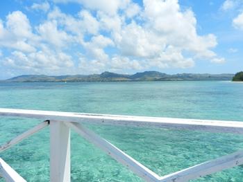 桟橋からの眺め