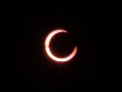 もうすぐ金環日食
