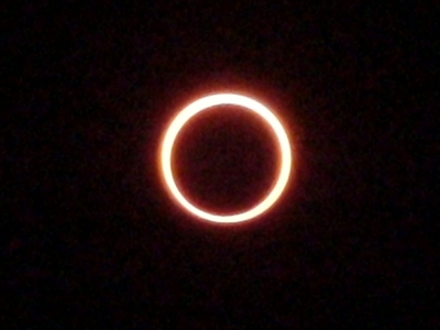 金環日食、完成!