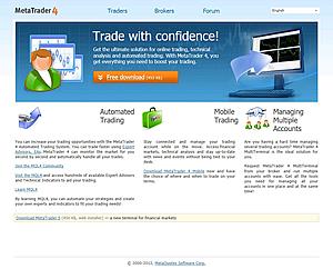 meta trader 4 site