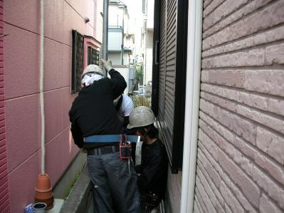 外壁塗装・屋根塗装 断熱塗料ガイナ 立川市K様邸