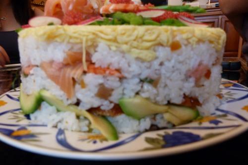 6月15日お寿司ケーキ