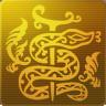 蛇遣座のシンボルマーク