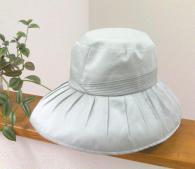 紫外線対策帽子