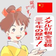 ・2銀河・中国