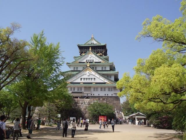 大阪城天守閣中は博物館です実は秀吉次ものではないのです