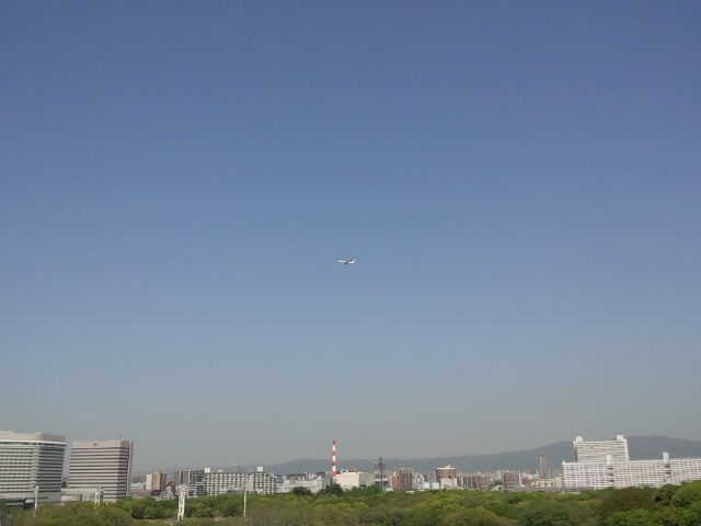 生駒山の眺めるw